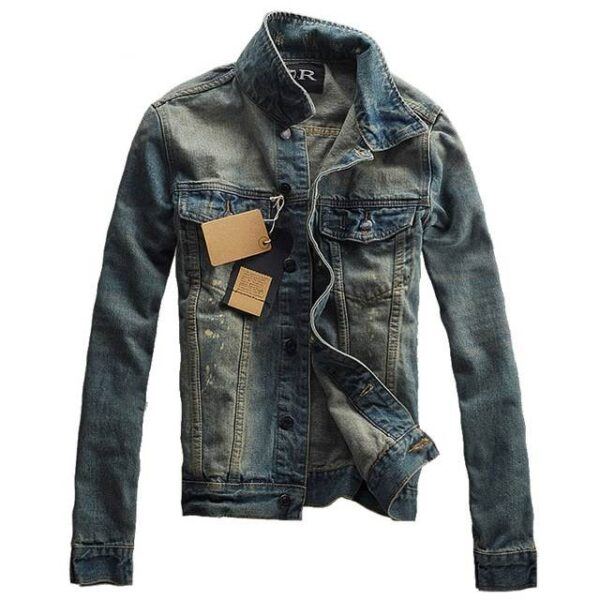 Veste jean mode printemps 2021