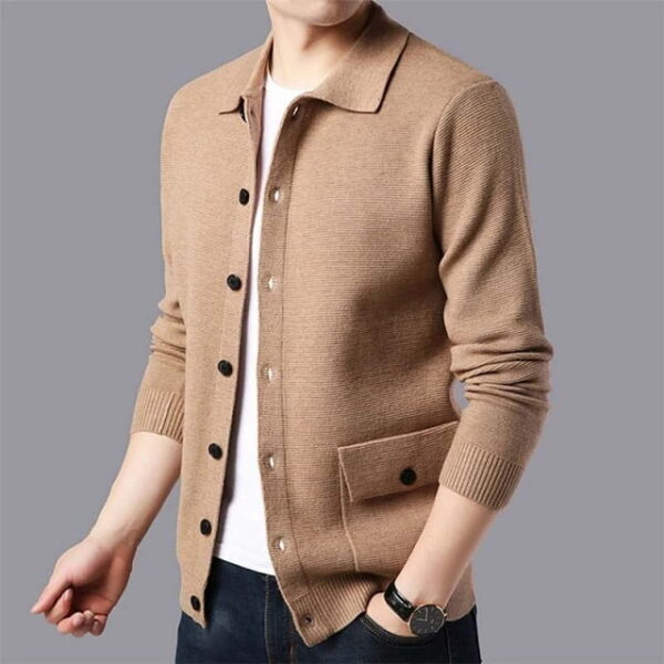 Cardigan homme chic