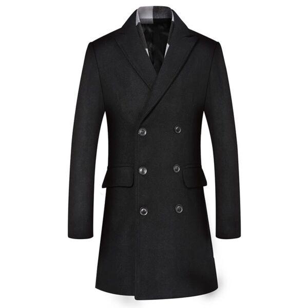 Manteau homme d'affaire tendance