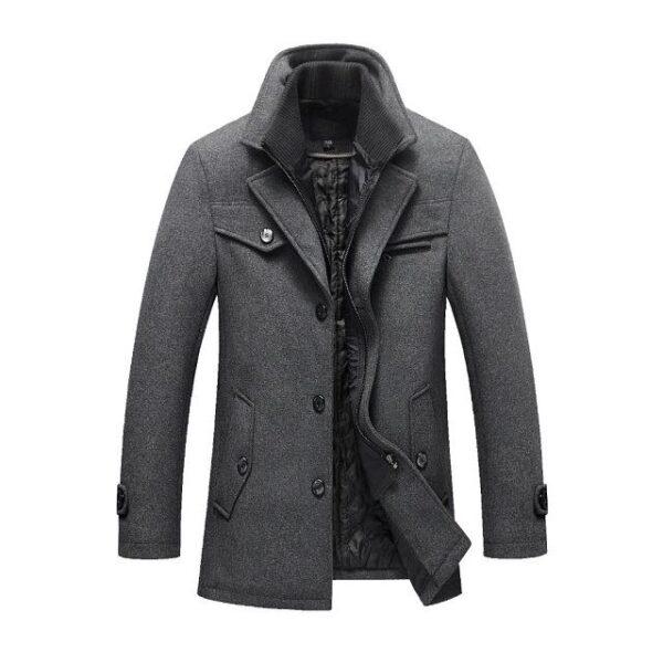Manteau laine homme mode 2021