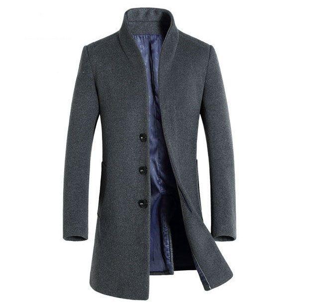 Manteau long homme mode 2020