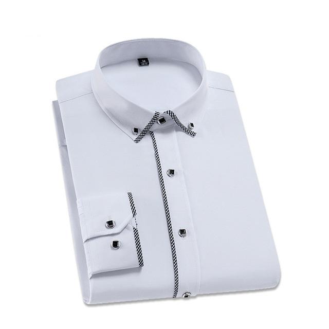Chemise blanche à manches longues mode 2020