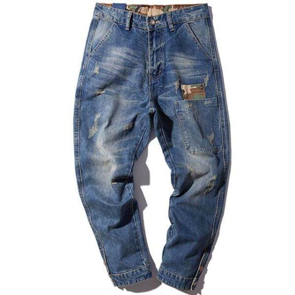Pantalon jean homme mode