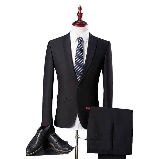 Costume homme noir chic