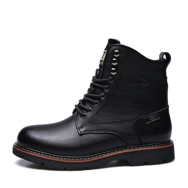 Bottes homme bout rond 1