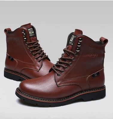 Bottes homme bout rond 10