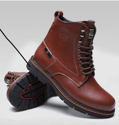 Bottes homme bout rond 11