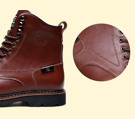 Bottes homme bout rond 13
