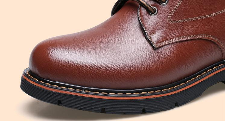 Bottes homme bout rond 14