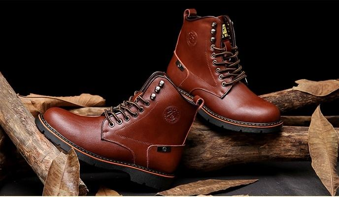 Bottes homme bout rond 8