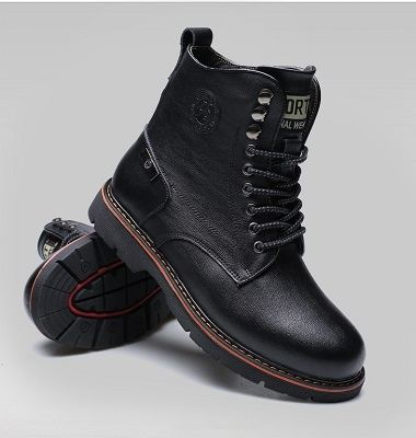 Bottes homme bout rond 9