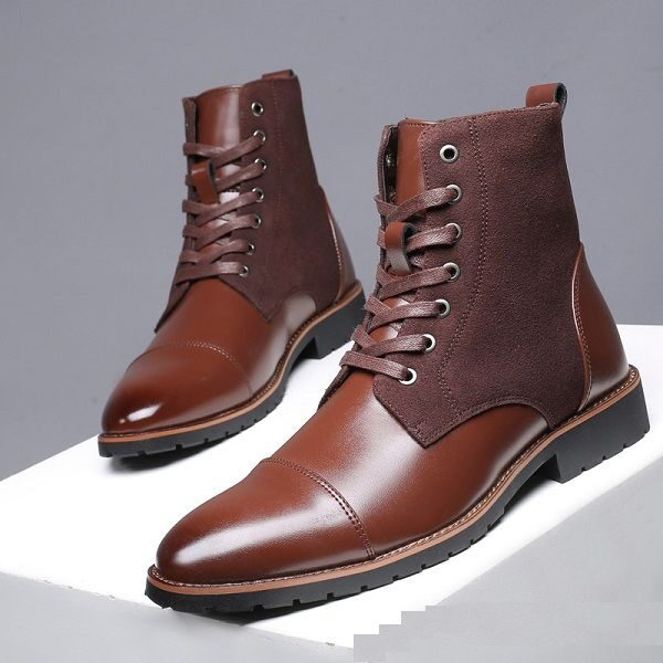 Bottes homme chic mode