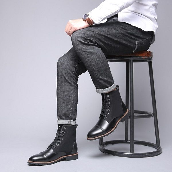 Bottes homme chic 9