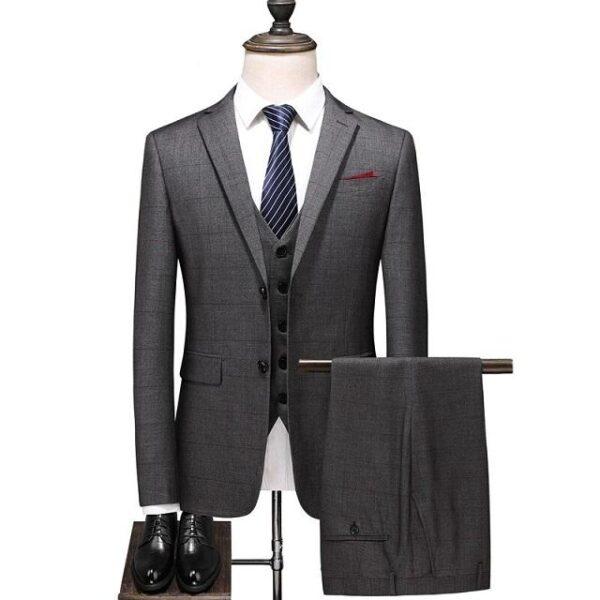 Costume homme 3 pièces à la mode