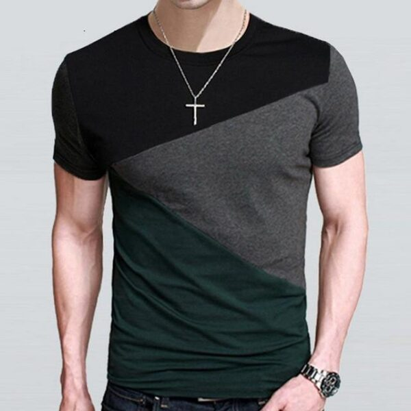 Tee shirt col rond homme