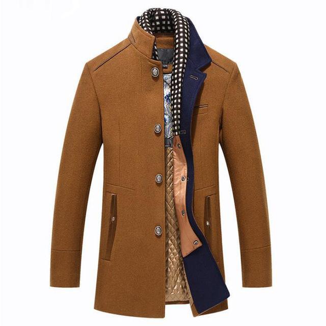 manteau homme laine mode