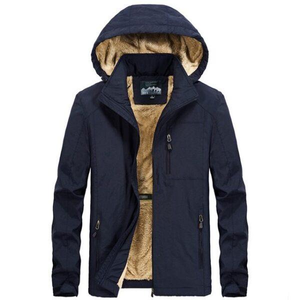 Veste hiver à capuche mode