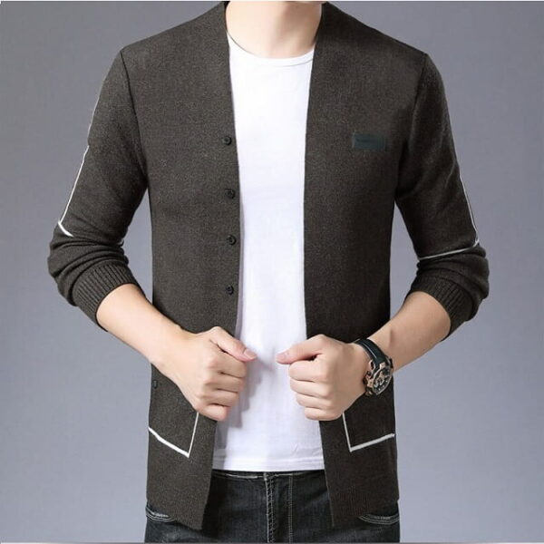 Gilet tricot homme