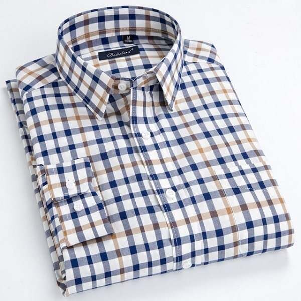 Chemise à carreaux mode