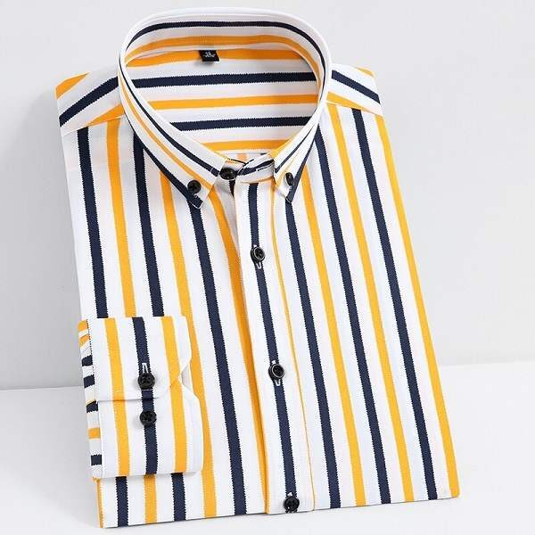Chemise rayée homme mode