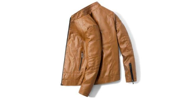 veste cuire homme mode 2021