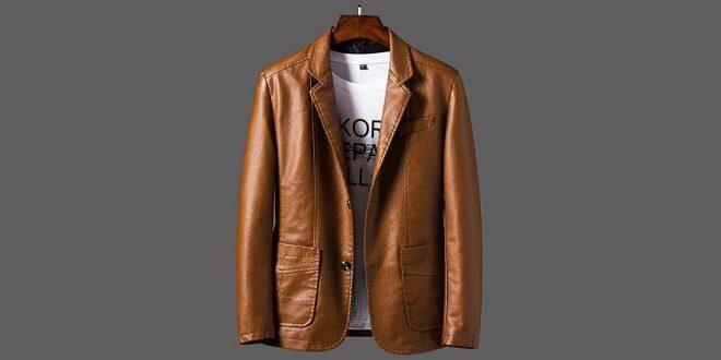 vestes en cuir homme mode 2021