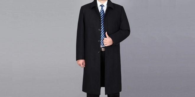 Manteau long homme tendance