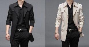 Trench homme tendance