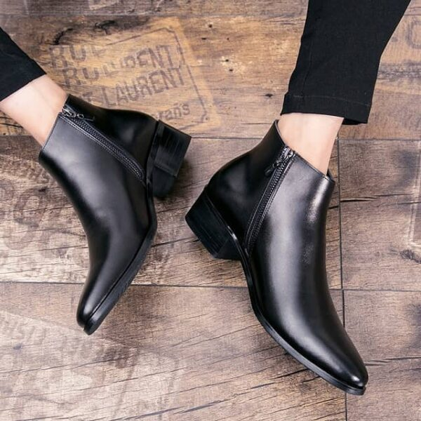 Bottes bout pointu homme