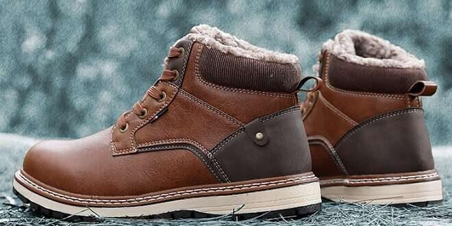 Chaussures d'hiver pour hommes