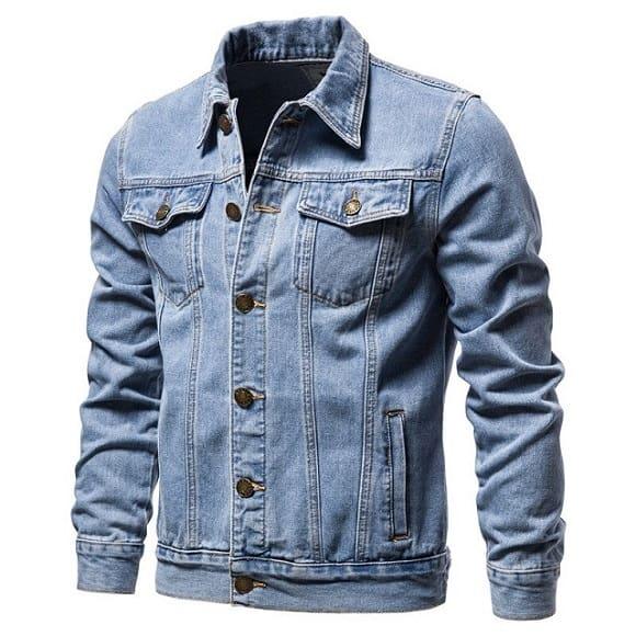 Veste en jean décontractée