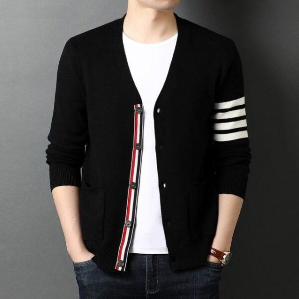 Cardigan mode homme