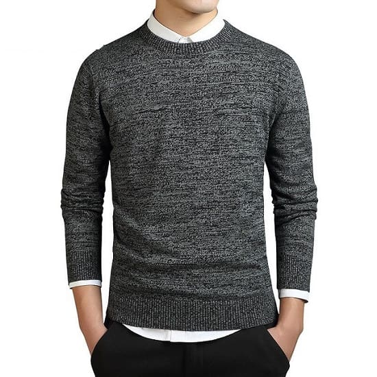 Pull en coton tricoté